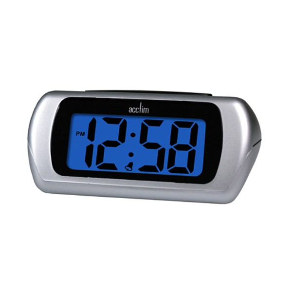 Reflex Talking Penguin Alarm Clock Large LCD Display Snooze /& Chime